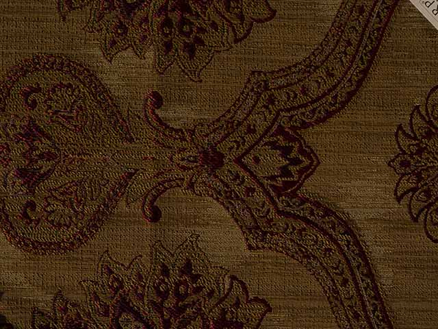 Large Prints - Pattern Repeat Greater Than 40cm - Paisley Bronze