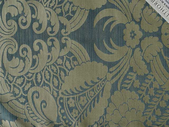 Large Prints - Pattern Repeat Greater Than 40cm - Pinnock Blue
