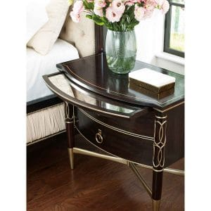 Everly Nightstand (Large Ebony)