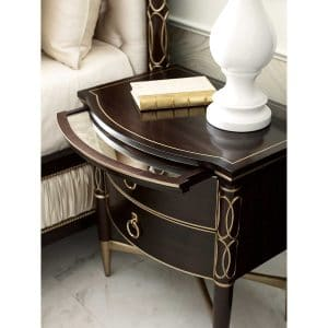 Everly Nightstand (Small Ebony)