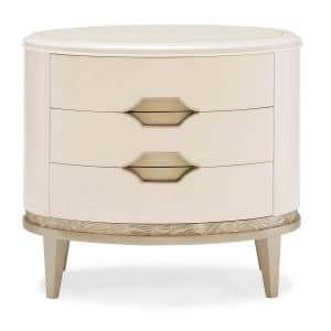 Adela Oval Nightstand