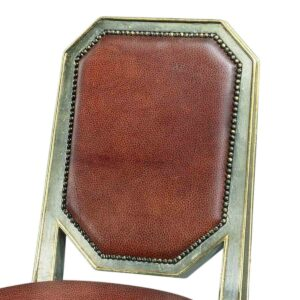 Silver And Gilt Accent Chair