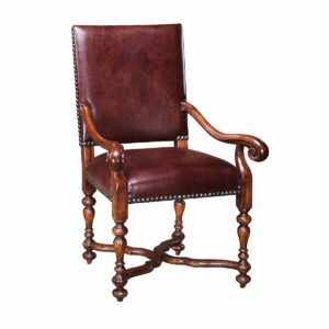 William & Mary Open Armchair