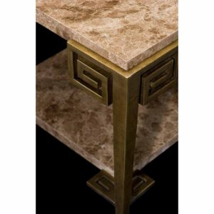 Marble Key Side Table