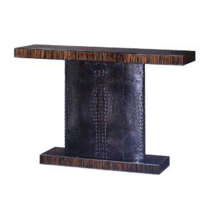 Macassar Console Table