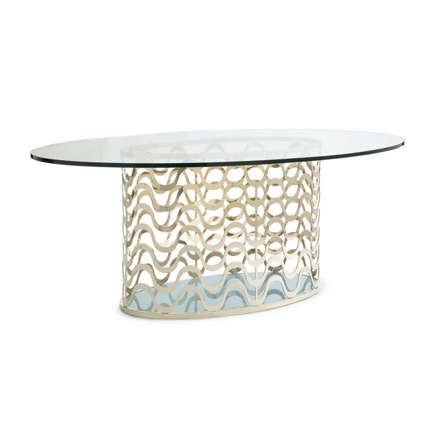 Wavelength Dining Table | Contemporary Luxury Exclusive Designer Modern Handcrafted Furniture | Sandton Johannesburg