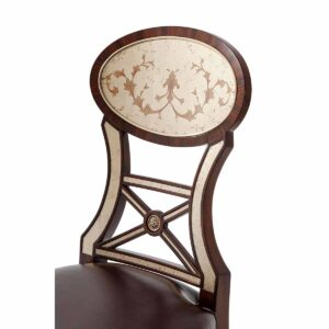 Eglomise Side Chair