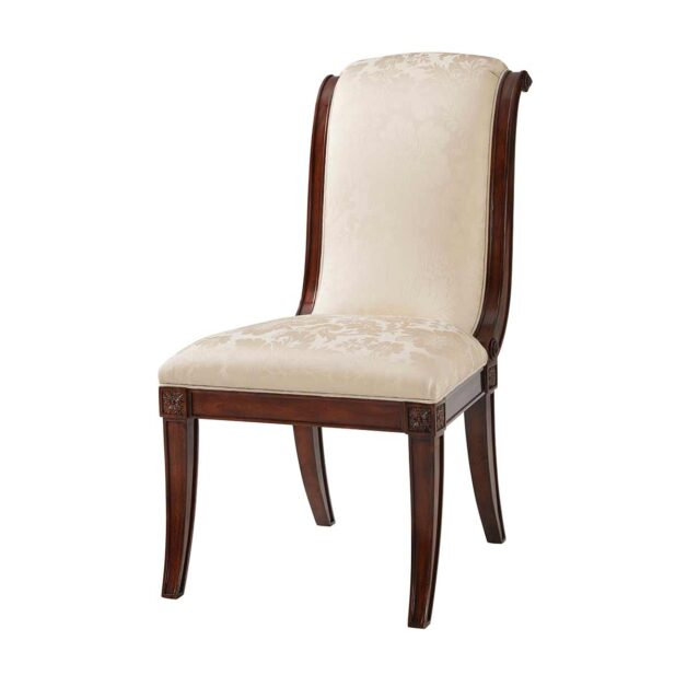Gabrielle Dining Side Chair | The English Cabinet Maker Collection | Traditional Fine Luxury Georgian Classical Handcrafted Furniture