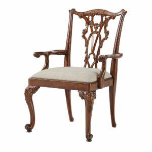 Seated in Rococo Splendour