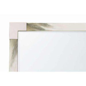 Small Cutting Edge Wall Mirror