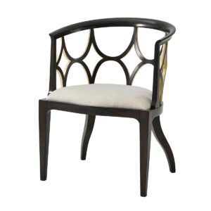 Ebonised Connaught Accent Chair