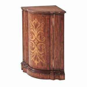 A Hickory Corner Cabinet