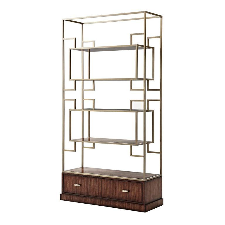 Contemporary Open Bookcases and Shelving