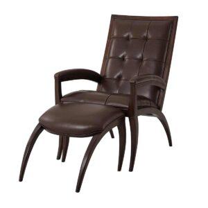 Arc Chair & Ottoman