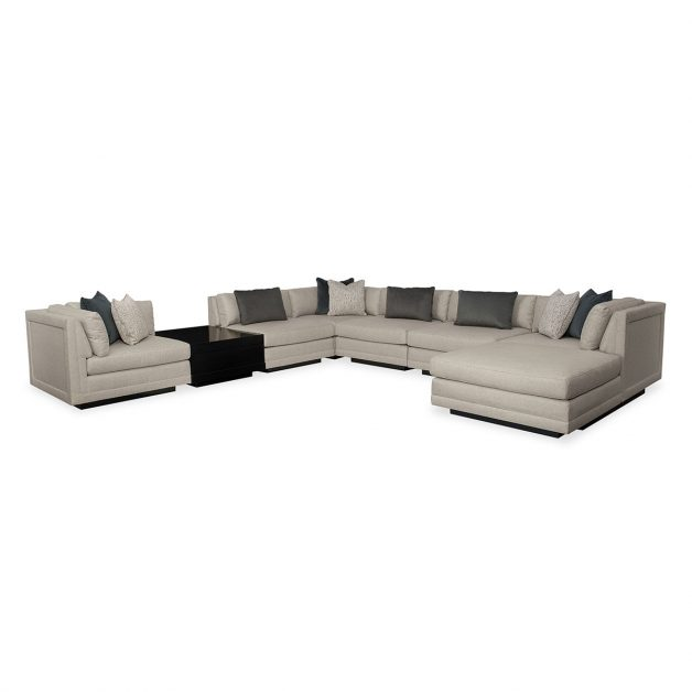 Fusion 8 Piece Sectional | Modern Designer Exclusive Furniture | Sandton