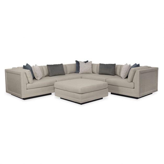 Fusion 6 Piece Sectional | Modern Designer Exclusive Furniture | Sandton