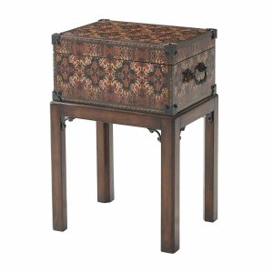 Carpet Box Accent Table