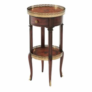 Louis XVI Circle Accent Table