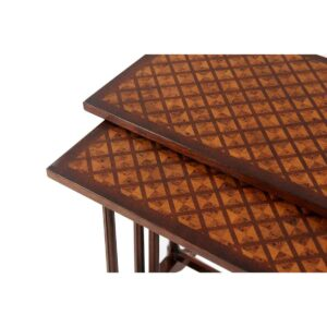 Parquetry Nest of Tables