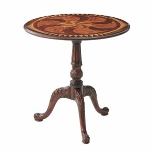 Swirl-Top Accent Table