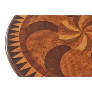 Burl Swirls Side Table