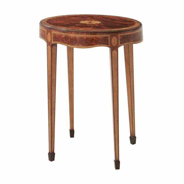 Mompesson Accent Table | Traditional Classical Fine Luxury Handcrafted Georgian Furniture | Sandton Johannesburg