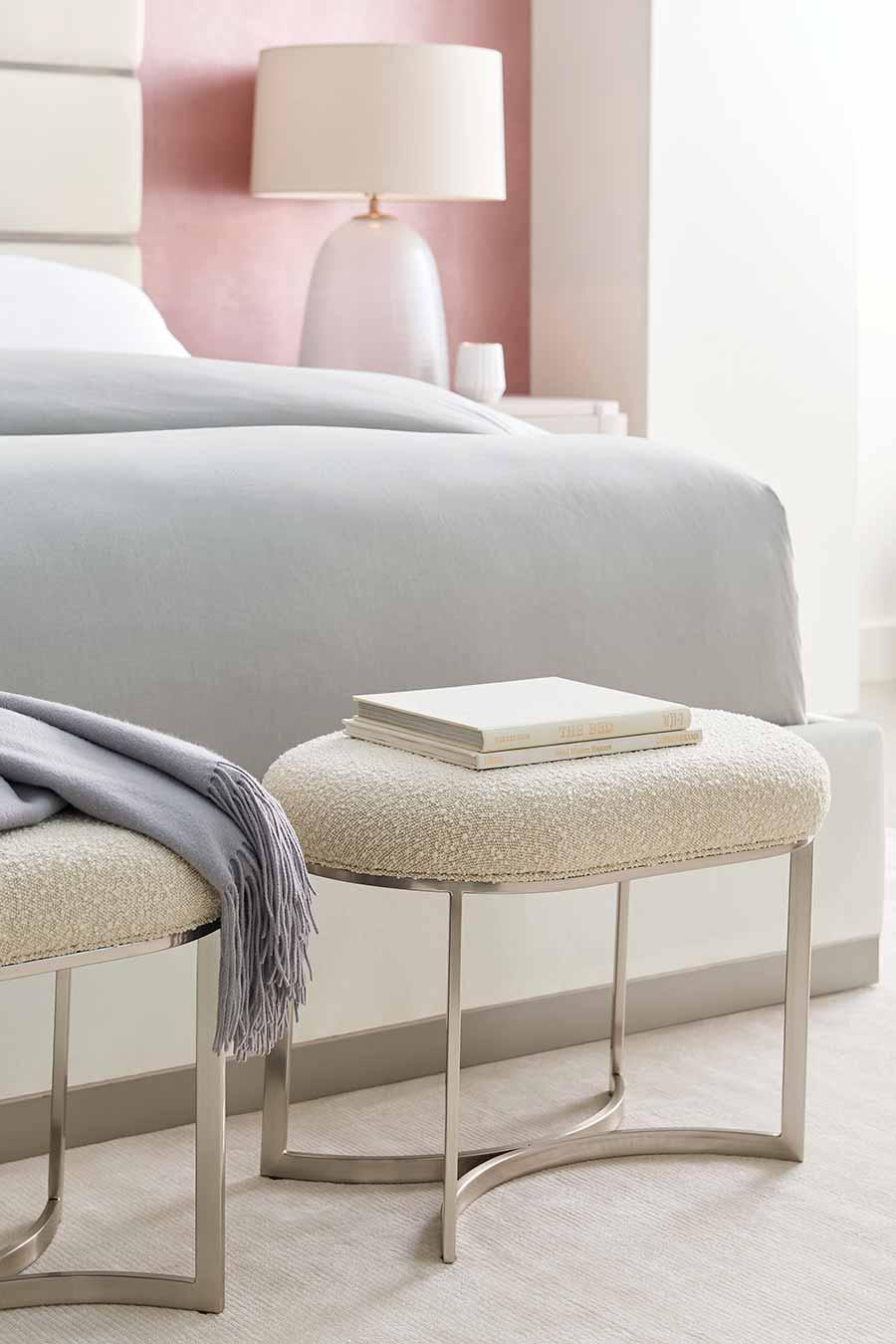 Bedroom Stool | Contemporary Luxury Designer Modern Exclusive Handcrafted Furniture | Sandton Johannesburg