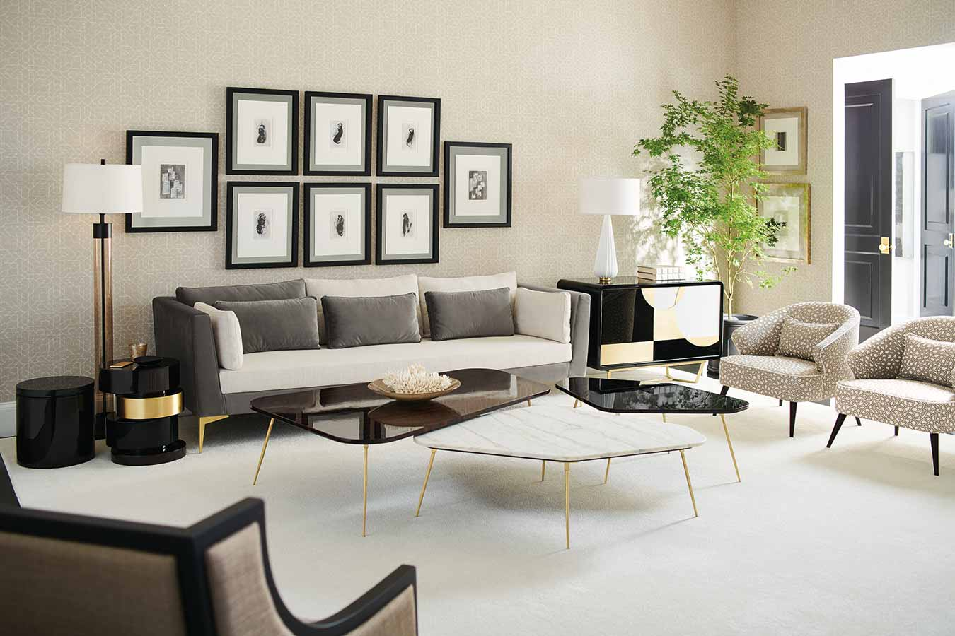 Living Room | Contemporary Luxury Designer Modern Exclusive Handcrafted Furniture | Johannesburg