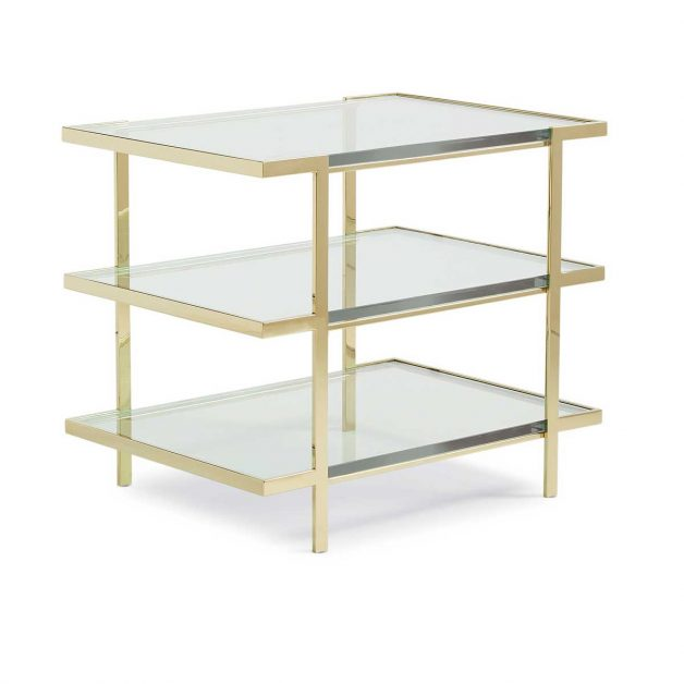 The Top To Bottom End Table | Contemporary Designer Exclusive Furniture