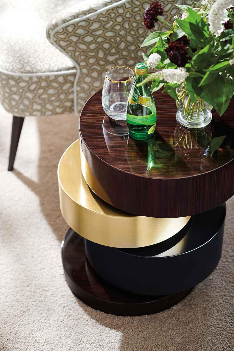 Side Table | Contemporary Luxury Designer Modern Exclusive Handcrafted Furniture | Sandton Johannesburg