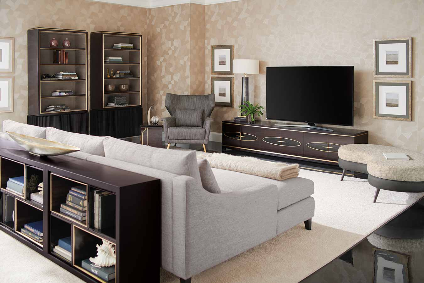 Entertainment Unit | Contemporary Luxury Designer Modern Exclusive Handcrafted Furniture | Sandton Johannesburg