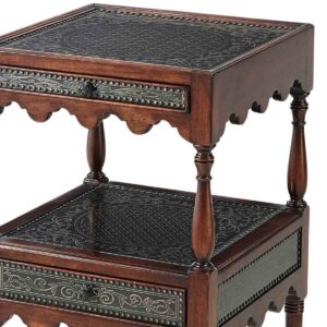 By a Regency Engraver Accent Table