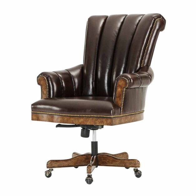 Bicester Desk Chair | Traditional Luxury Handcrafted Victorian Furniture
