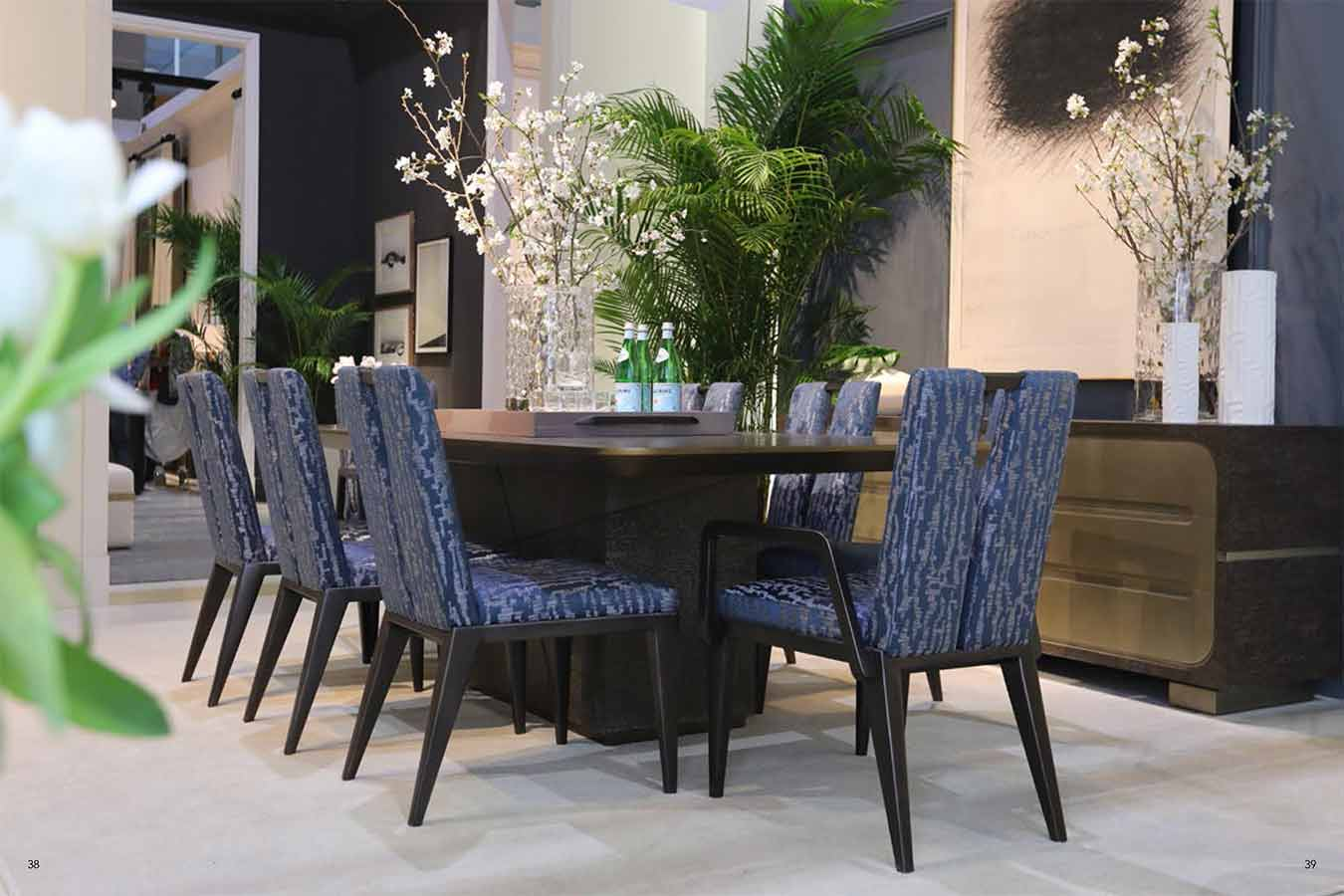 Xander Noori Dining Room | Contemporary Modern Luxury Exclusive Designer Handcrafted Furniture | Sandton Johannesburg