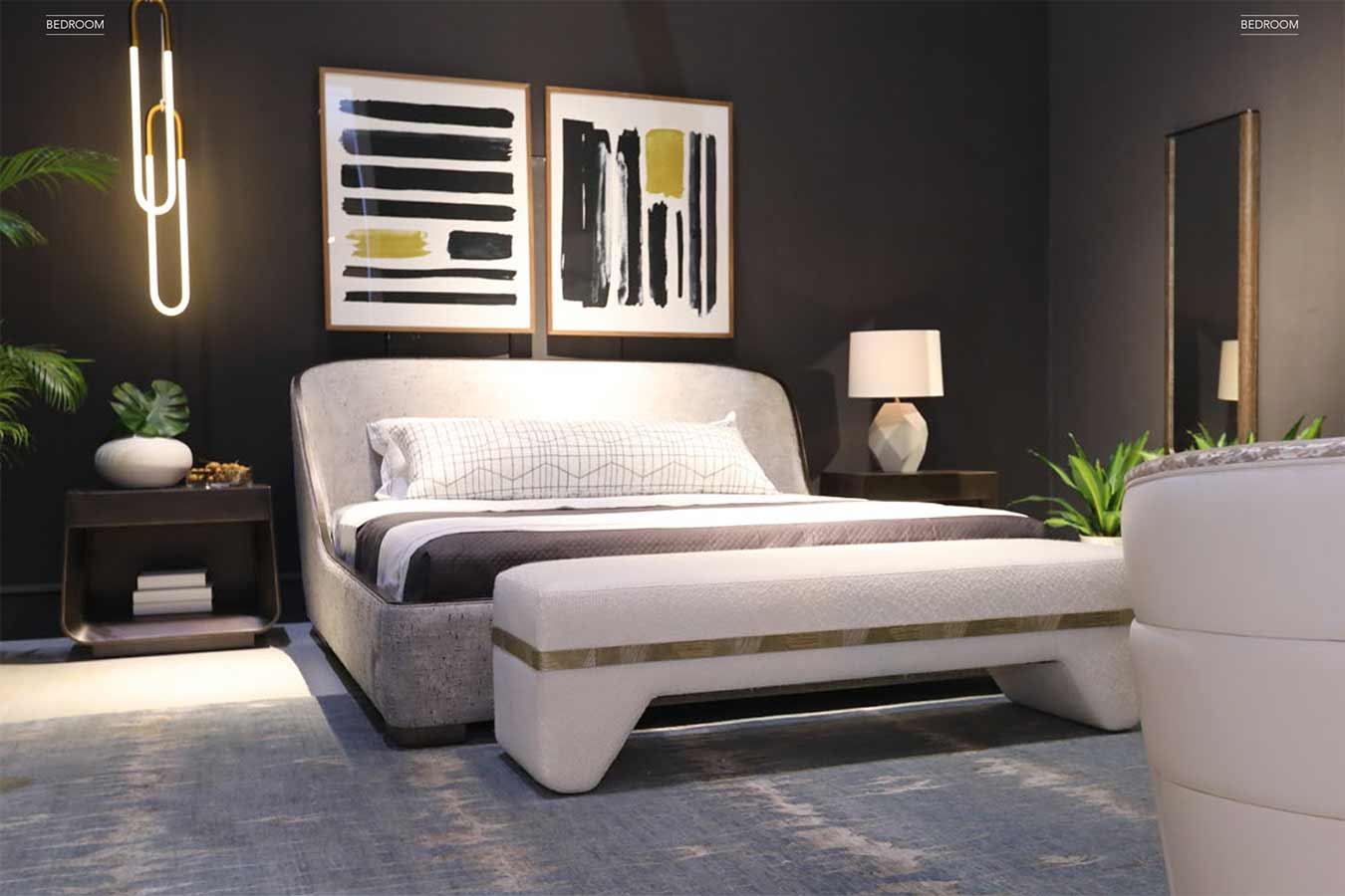 Xander Noori Bedroom | Contemporary Modern Luxury Exclusive Designer Handcrafted Furniture | Sandton Johannesburg