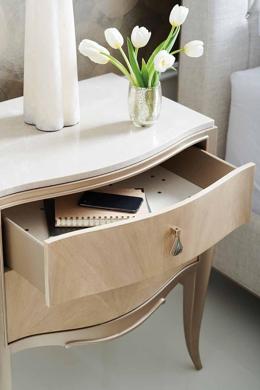Contemporary Bedroom Nightstand | Luxury Designer Modern Exclusive Handcrafted Furniture | Sandton