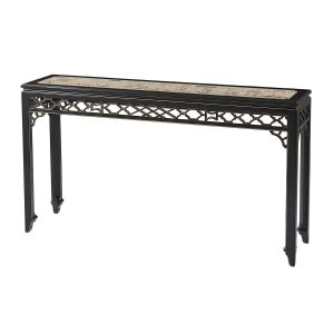 Long Hall Chinoiserie Console Table