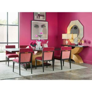 Reed Rectangular Dining Table