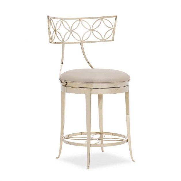 Royal Klismos At The Counter | Contemporary Luxury Designer Furniture