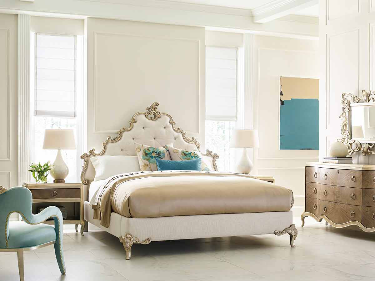 Fontainebleau Collection Bedroom | Fine Luxury Exclusive Designer Rococo and Baroque Handcrafted Furniture | Sandton Johannesburg