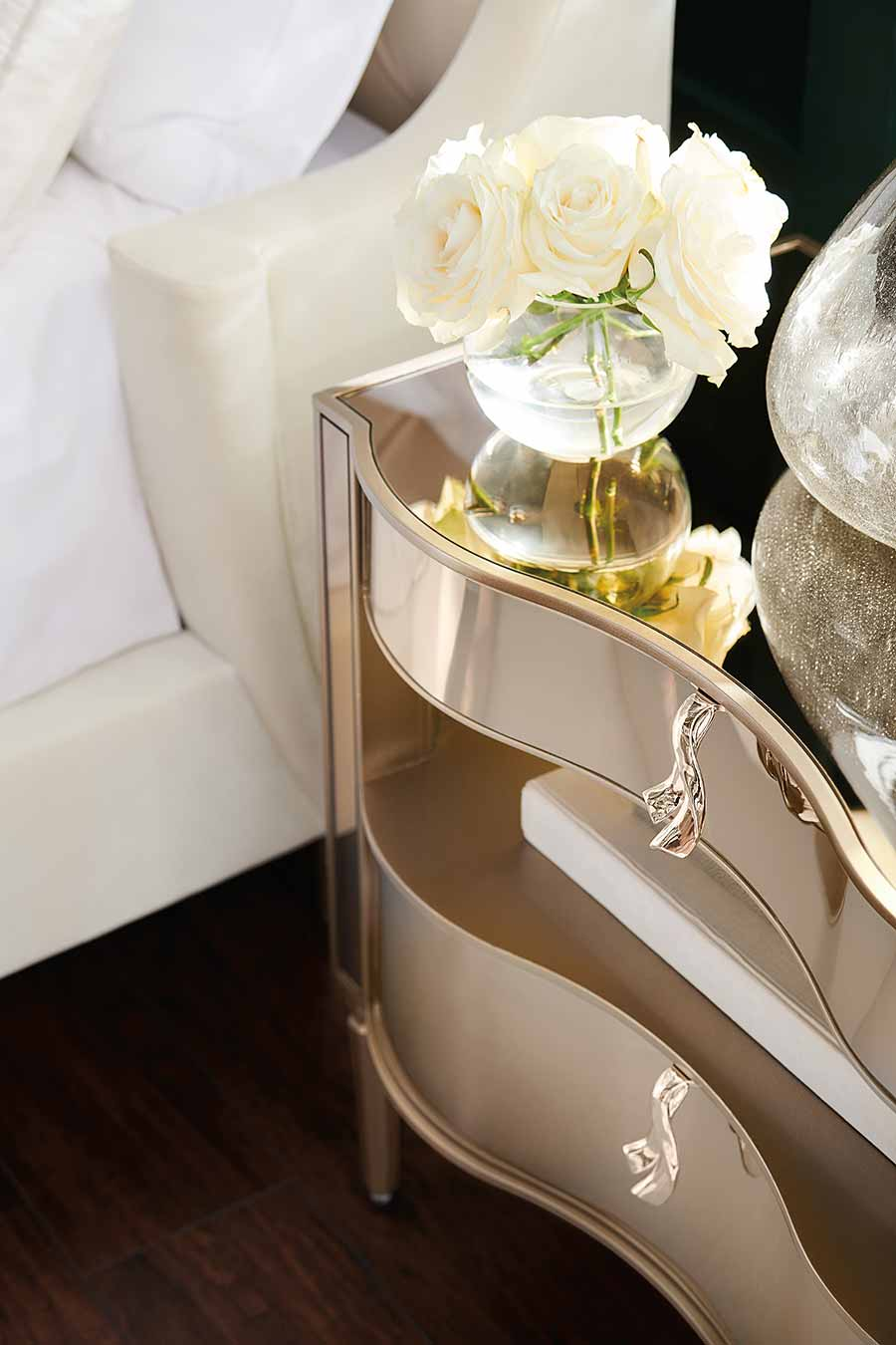 It's a Small Wonder Nightstand | Bedroom | Contemporary Modern Luxury Exclusive Elegant Designer Handcrafted Furniture