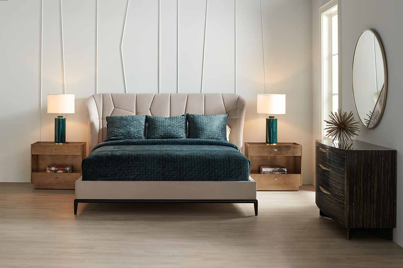 Modern Edge Collection Bedroom | Contemporary Modern Luxury Exclusive Designer Handcrafted Furniture | Sandton Johannesburg