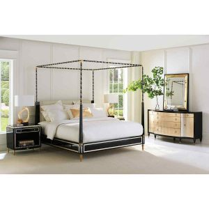 The Couturier Canopy Bed – King