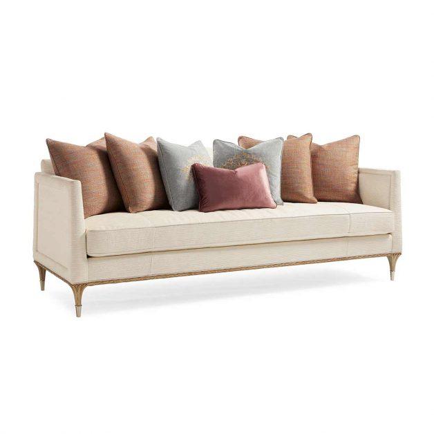 Fontainebleau Sofa | Luxury Transitional Exclusive Designer Furniture