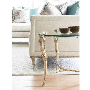 Fontainebleau Round End Table