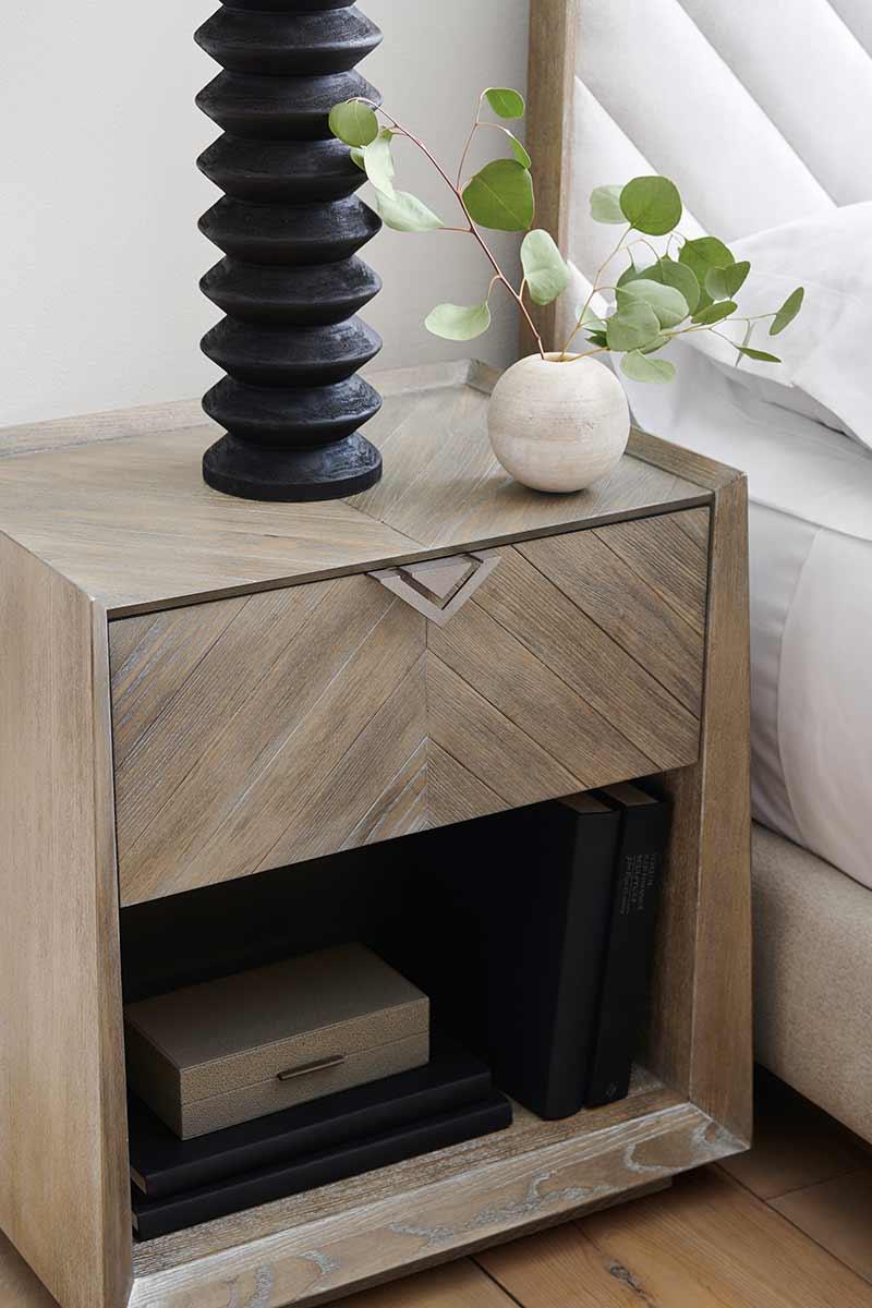 Earthly Delight Nightstand | Bedroom | Contemporary Modern Luxury Exclusive Elegant Designer Handcrafted Furniture