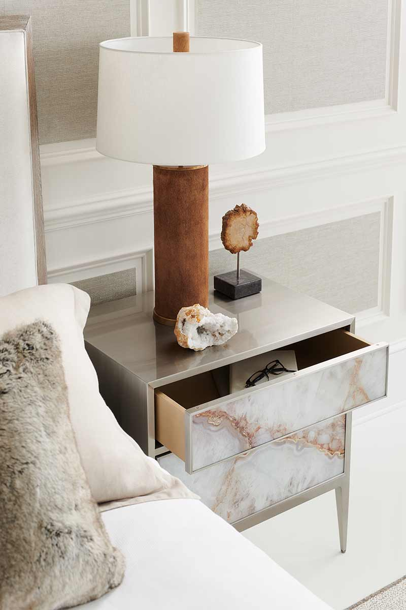 Perfect Gem Nightstand | Bedroom | Contemporary Modern Luxury Exclusive Elegant Designer Handcrafted Furniture