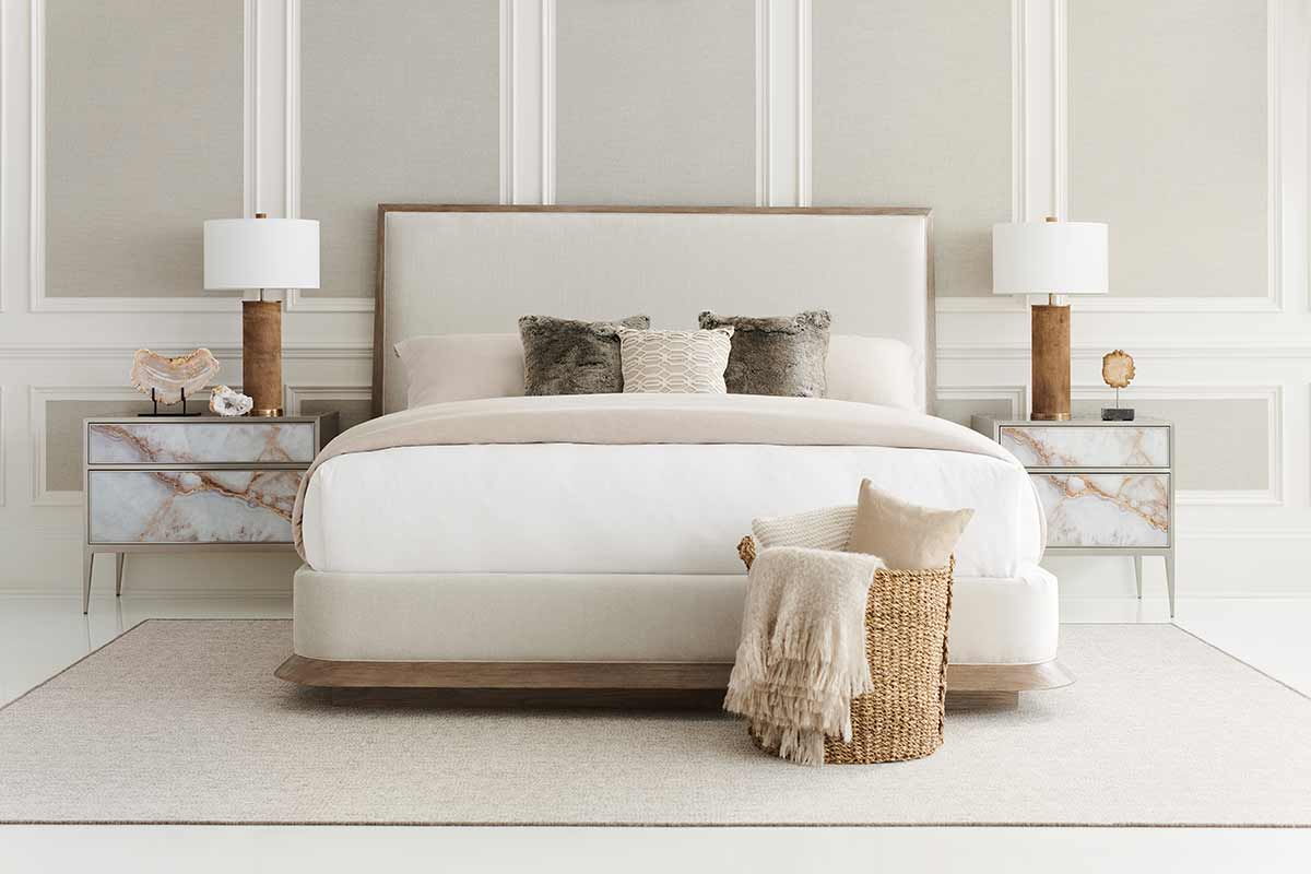 The Stage is Set Bed | Bedroom | Contemporary Modern Luxury Exclusive Elegant Designer Handcrafted Furniture