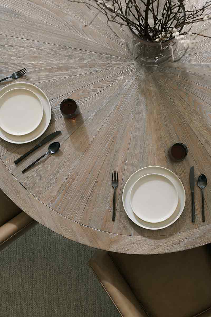 Rough and Ready 54 Dining Table | Dining Room | Contemporary Modern Luxury Exclusive Elegant Designer Handcrafted Furniture