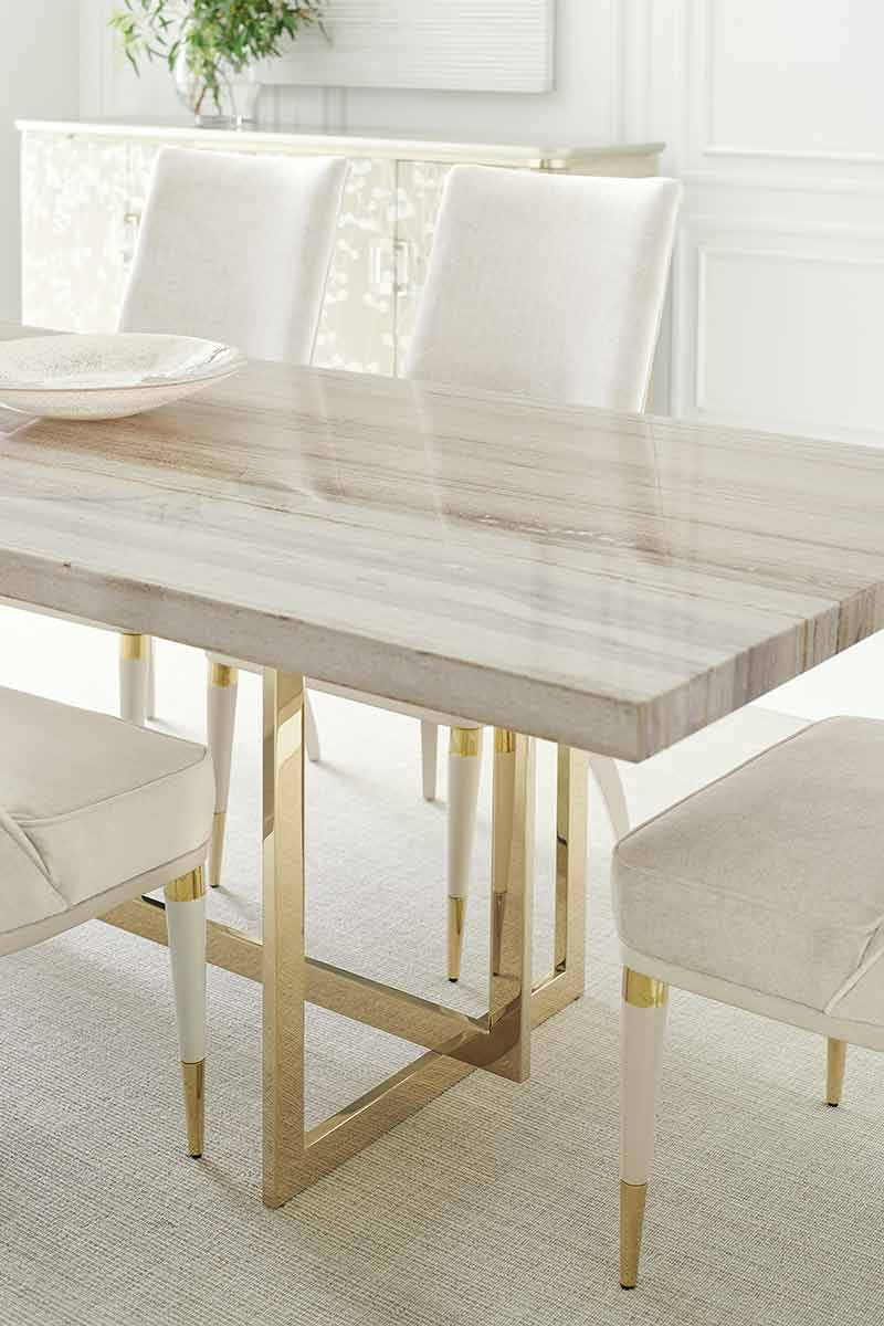 Wish You Were Here Dining Table | Dining Room | Contemporary Modern Luxury Exclusive Elegant Designer Handcrafted Furniture